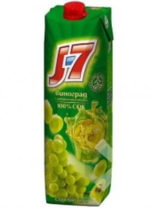 Сок J7 виноградный